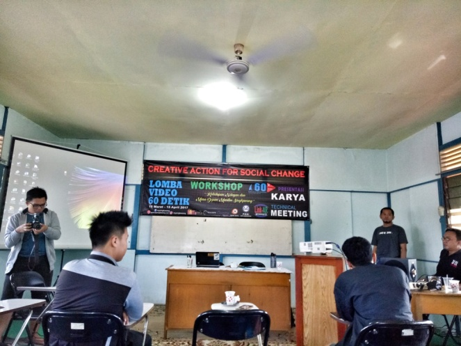 workshop lomba video 60 detik di singkawang
